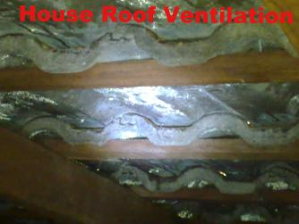 Roof condensation -tile sweating