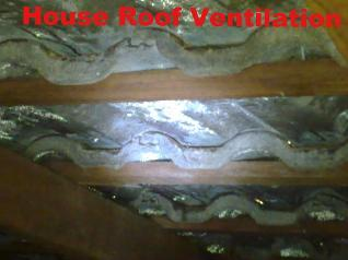 Tile Roof condensation - cavity heating