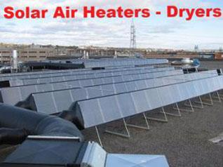 Solarventi commercial air heaters